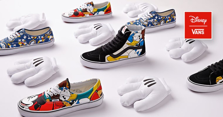 Disney + Vans Team Up and Create Some Sweet Shoes!