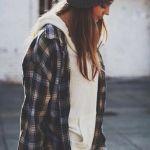 Grunge Style, Fashion, Fall Winter Plaid Shirts, Teen Fashion