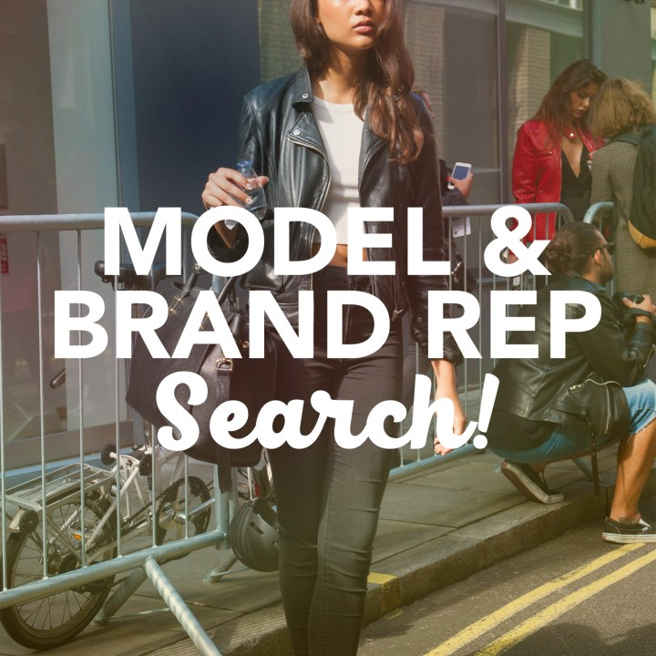 teen brand rep-model-search