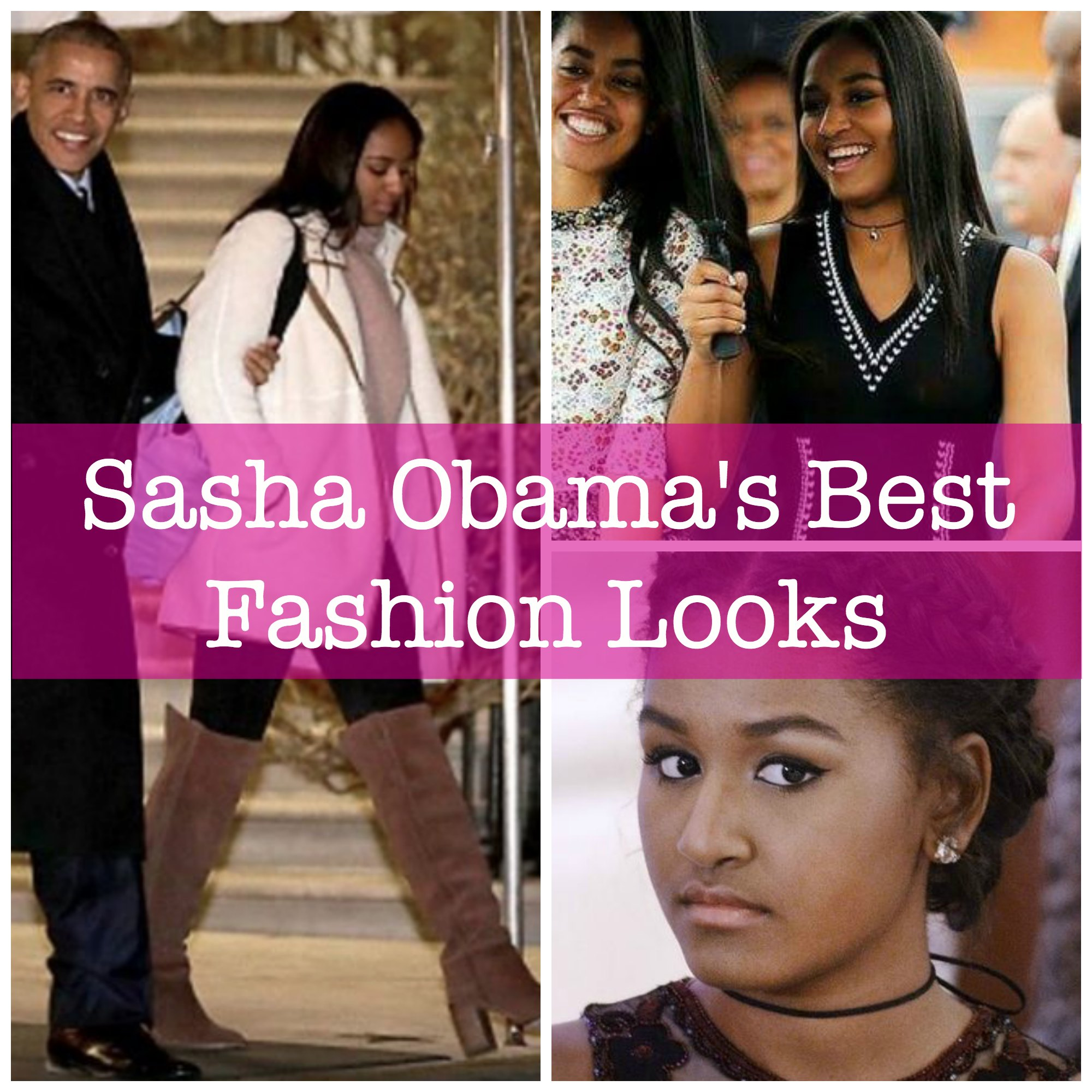 Sasha Obama's Best Fashion Looks