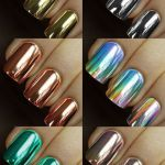 chrome nail ideas, chrome nail tutorial, colors