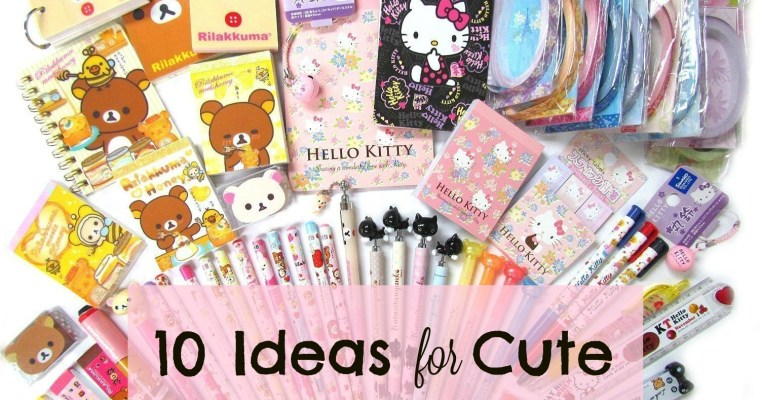 10+ Ideas for Cute Back to School Supplies