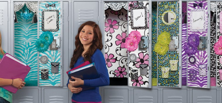 Back to School: Teen and Tween Locker Decorating Ideas