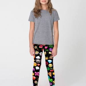 berry jane emoji print leggings like Terez