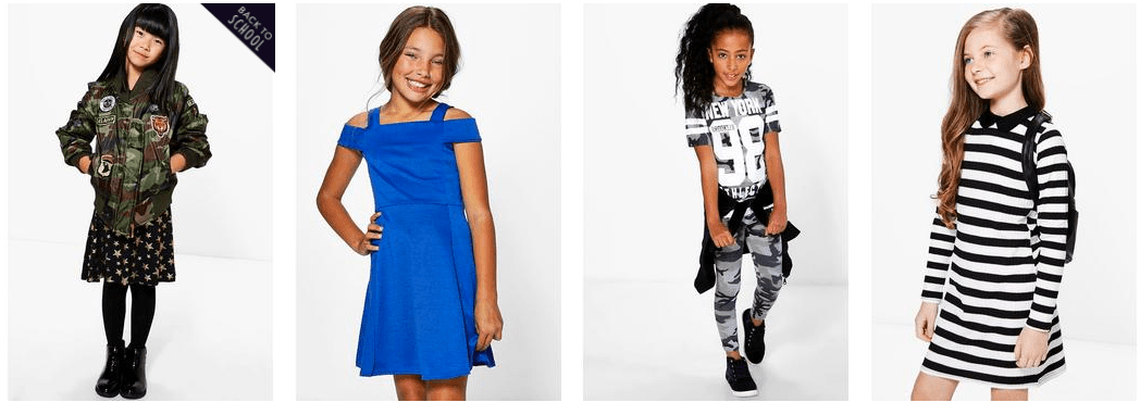Find a great selection of fashionable dresses, tops, pants, slacks and shoes for your stylish youth! Shop tween clothing now and save up to 70% off!
