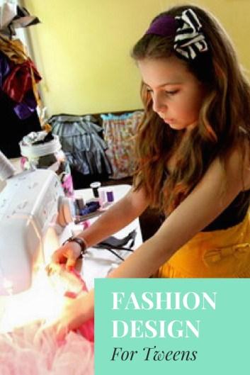 fashion Design for beginners, Kids, Tweens