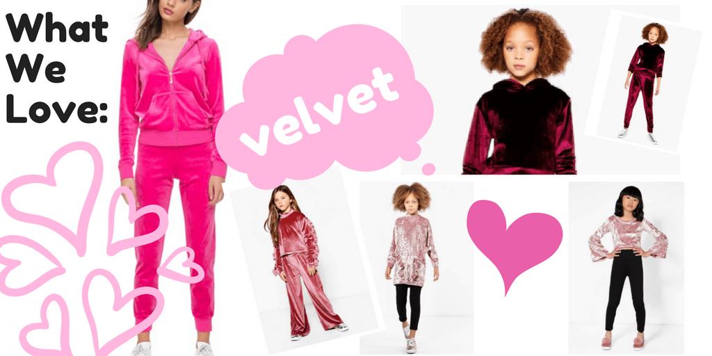 Trend Alert: Crushing on Velour and Velvet