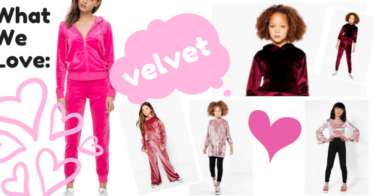 Trend Alert: Crushing on Velour and Velvet