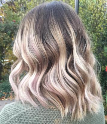 Ashe Blonde and Rose Gold
