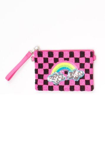 Rainbow Beaded Purse, www.littlemissmatched.com