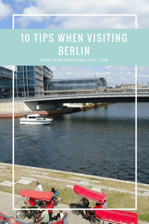 10 tips when visiting Berlin