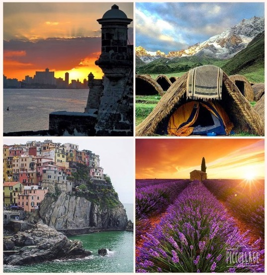 Collage Travelandleisure