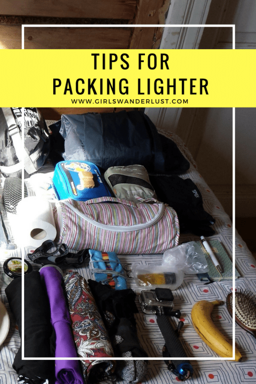Tips for packing lighter #packing #backpacking #backpack #girlswanderlust #wanderlust #travel #traveling #travelling #travel #travelblog #travelinspiration #inspiration #reizen.png