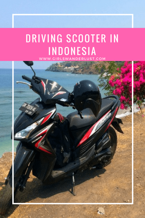 Driving scooter in Indonesia – Traffic rules and useful tips
