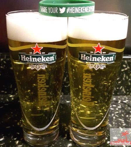 Exploring Amsterdam – the Heineken Experience Brewery Tour. Girlswanderlust. Heineken beers.jpg