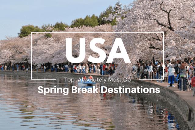 Spring Break Destinations in USA