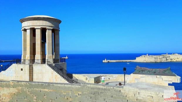 Siege Bell War Memorial  - Cityguide Valletta, Malta by Girlswanderlust.jpg