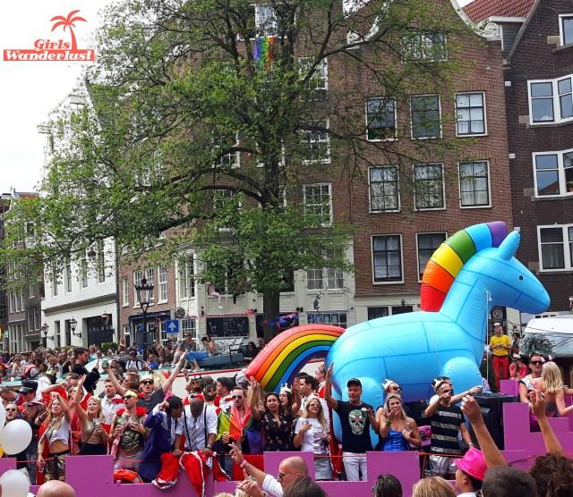Amsterdam Gay Pride Canal Parade 2  #gay #pride #parade #amsterdam #netherlands #gaypride #canalparade #girlswanderlust #wanderlust #travel #travelling #nederland.jpg