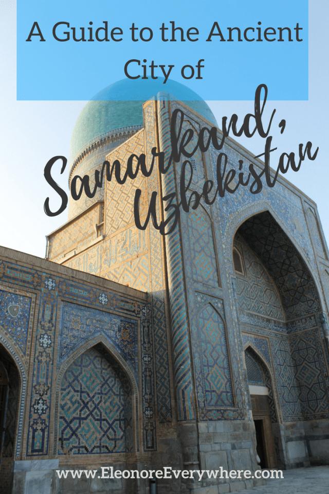 Pinterest Image - Samarkand