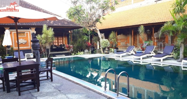 Stana Puri Gopa Sanur, a a traditional Balinese hotel with a story by @girlswanderlust - Pool - #hotel #hotelsanur #girlswanderlust #indonesia #bali #travel #travelling #travelblog