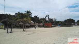 Beach of Playa del Carmen