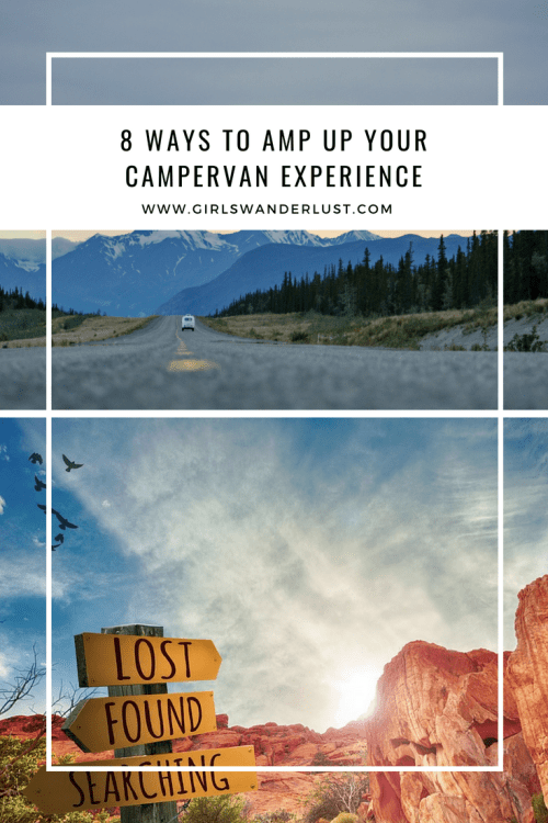 8 Ways to amp up your campervan experience by @girlswanderlust #girlswanderlust #travel #traveling #wanderlust #wander #campervan #van #camper pack smart #pin.png