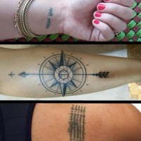 Beautiful travel tattoos and the stories behind them