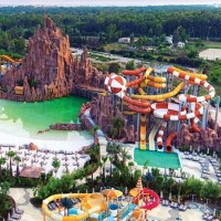 The lands of legends theme park in Belek