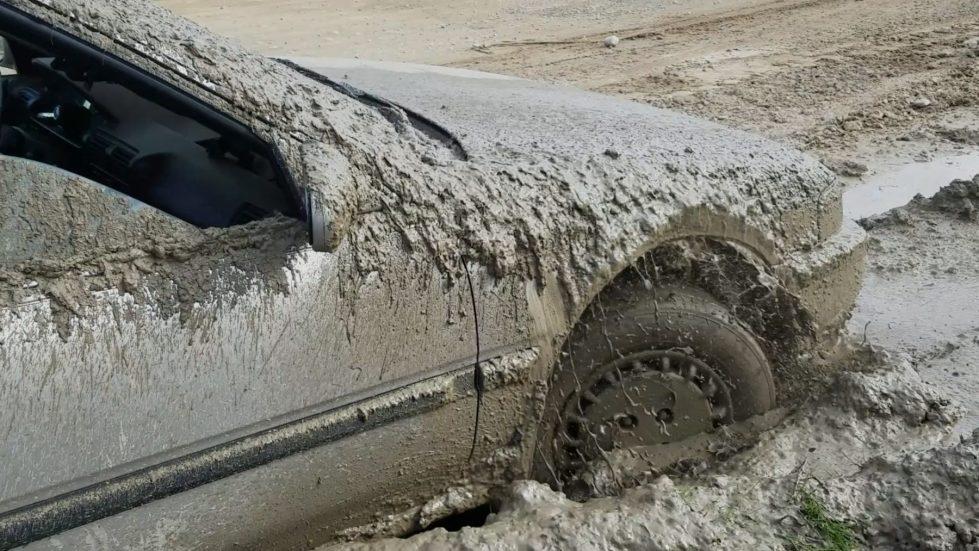 Annette STuck in mud Teaser