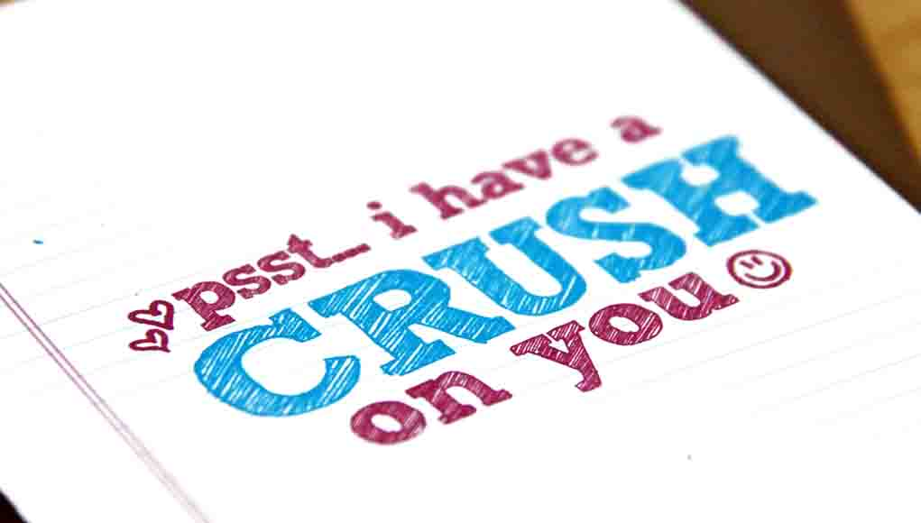 Things Crush Say Your Cute
