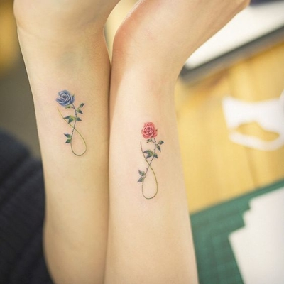 Mom And Daughter Matching Tattoos - The Best Daughter Of 2018