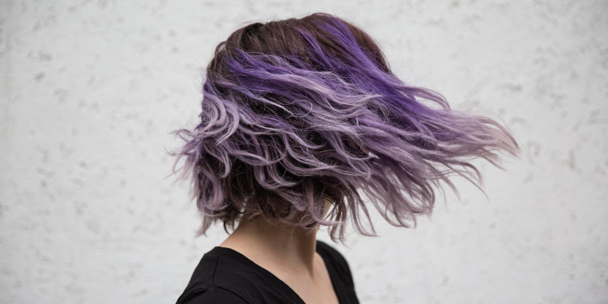 30 Purple Balayage Hairstyle Looks