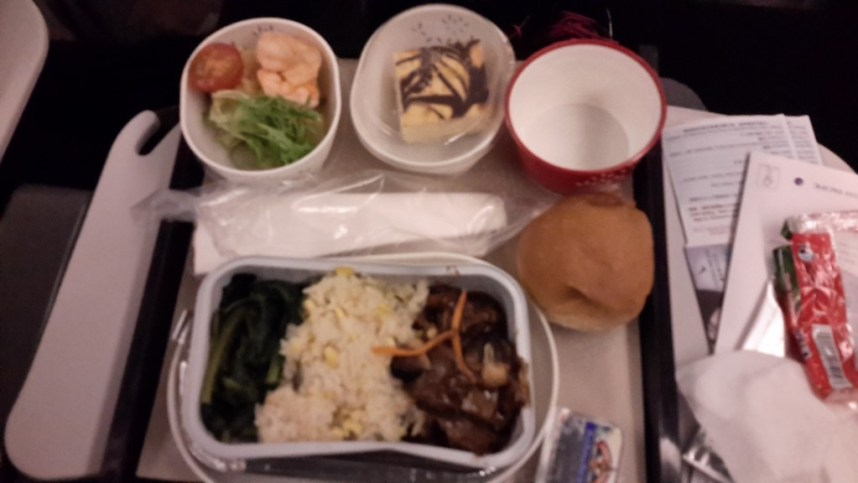 Cathay Pacific's Airline Food