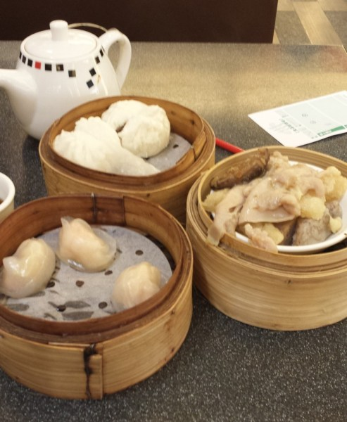 Dim Sum at the Hong Kong Airport