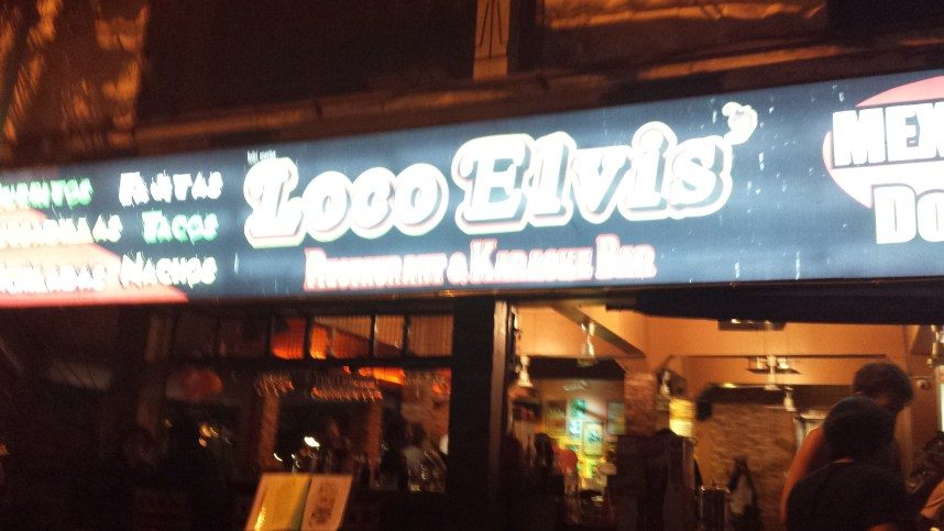 Loco Elvis in Chiang Mai