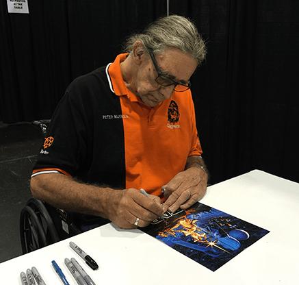 Peter Mayhew Signing