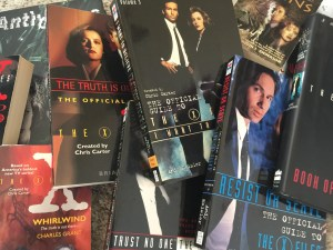 X-Files books from the 90s