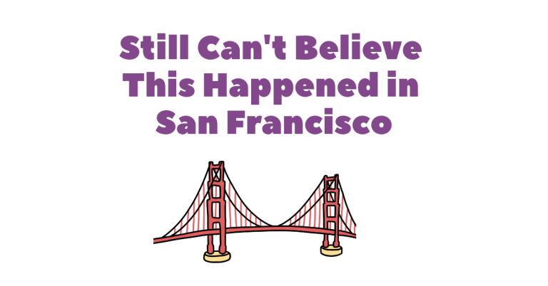 Still Cant Believe This Happened In San Franciscco Anosmia Story