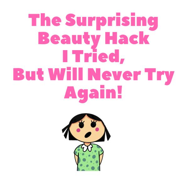 Anosmia and Beauty Hacks