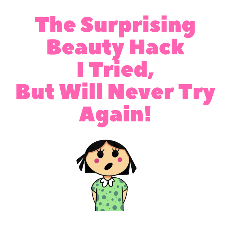 Anosmia and Beauty Hacks