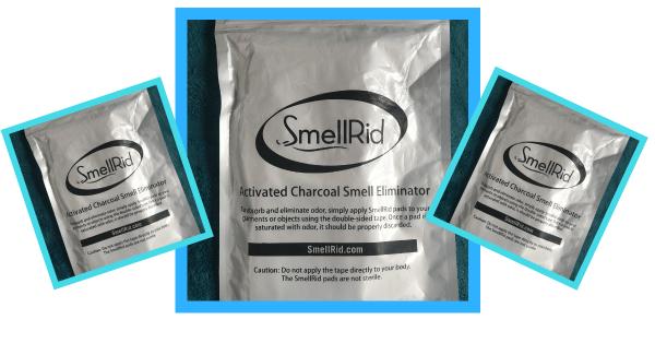 SmellRid Charcoal Flatulance Pad