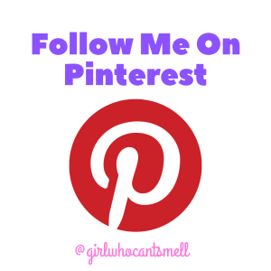 Follow The Girl Who Cant Smell on Pinterest Now