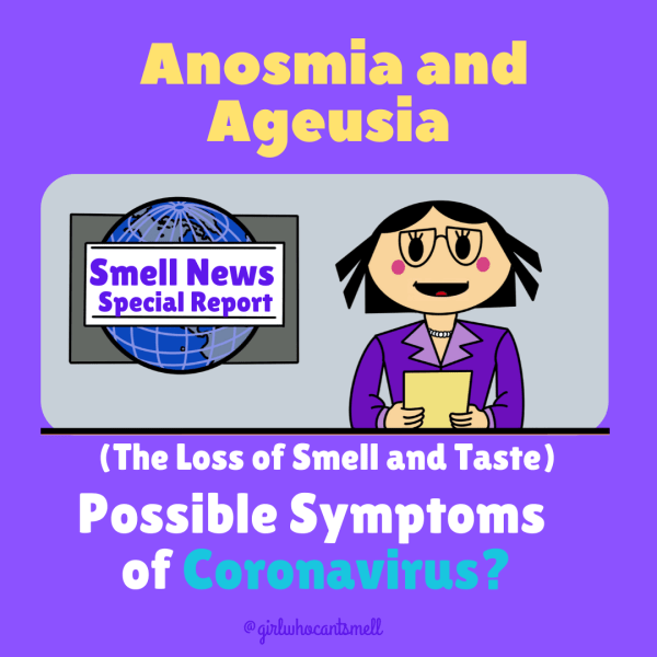 Coronavirus anosmia symptoms By The Girl Who Cant Smell pic