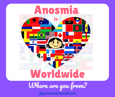 Anosmia is Worldwide