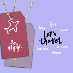 GirlWhoLovesPink! TravelTags!