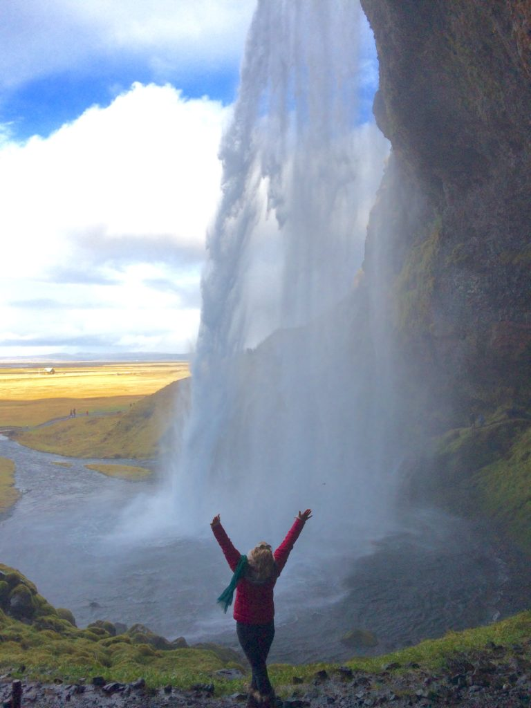 Top 5 Best Waterfalls in Iceland, Seljalandsfoss, Girl Who Travels the World