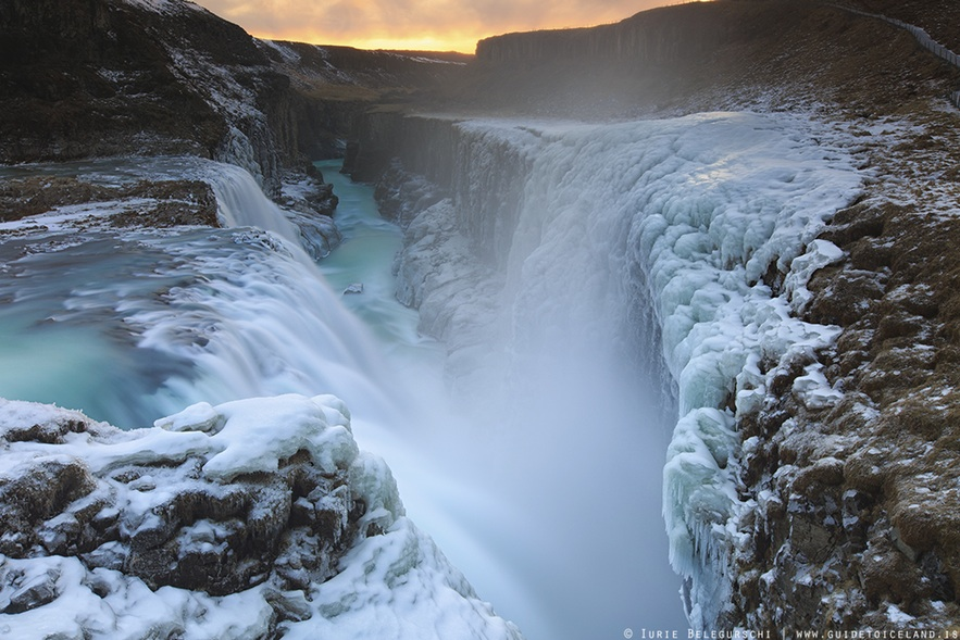 Free Flights, Iceland Travel Gulfoss Waterfall