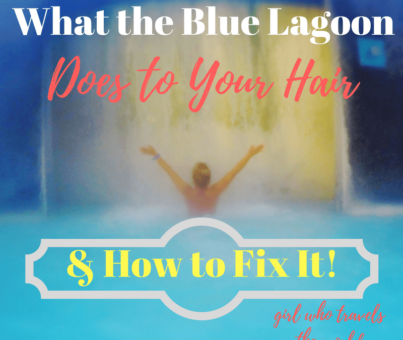 How To Fix Blue Lagoon Hair!