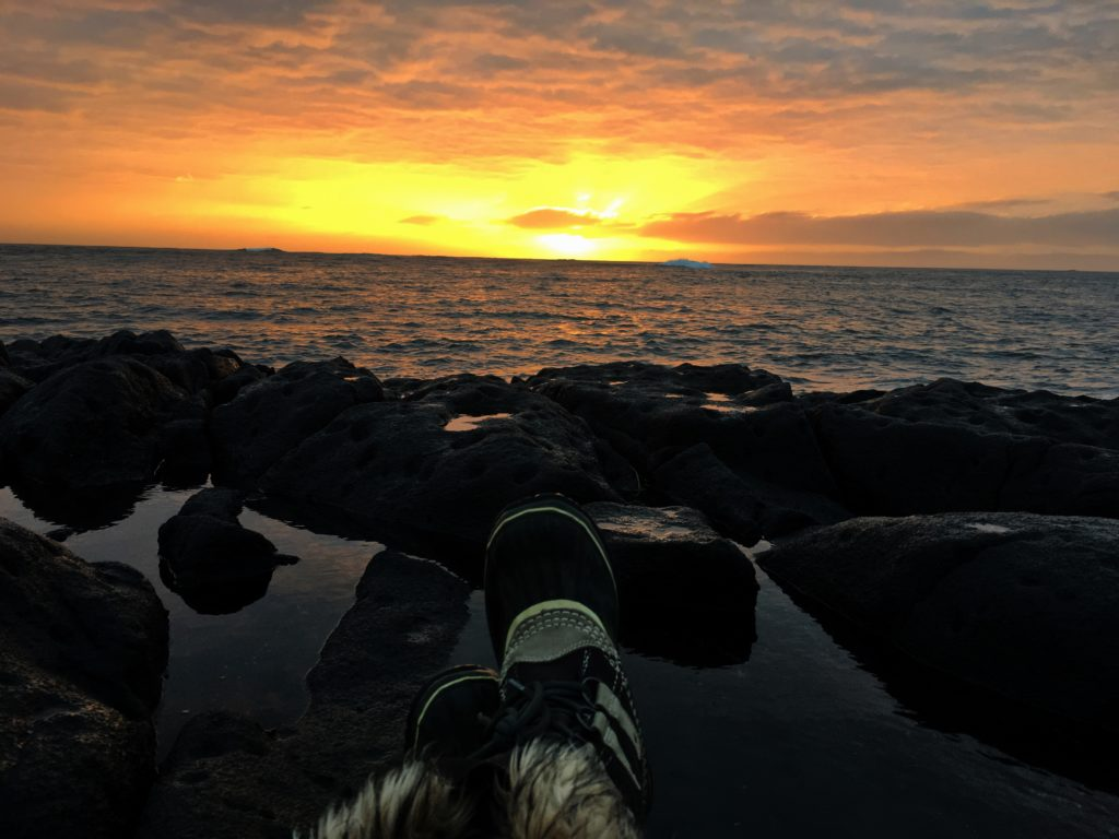 Perfect Iceland Sunset, Iceland Travel FAQ, Girl Who Travels the World