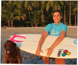 Why Surf Camp is Perfect for Solo Travel, Tierza Eichner, Pura Vida Founder